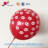 wholesale biodegradable 9 inch children toys printing balloons