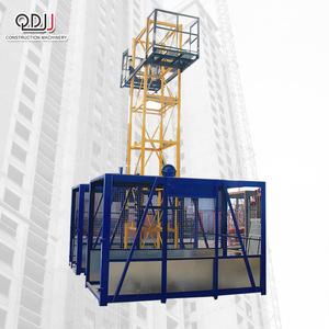 SS100 100 Qidong Building Hoist Temporary Construction Lift