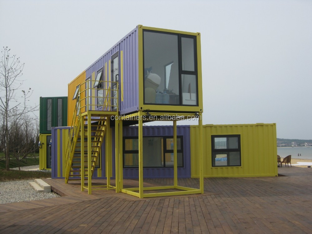 Chinese prefabricated Beautiful Luxury container house