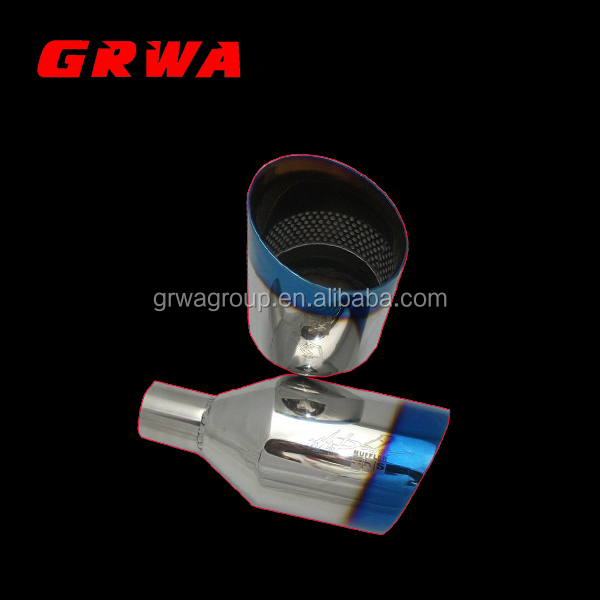 High Quality SS304 Titanium Exhaust Muffler Tips for HKS