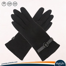 soft wool warm touch screen glove protect your hands, can custom logo
