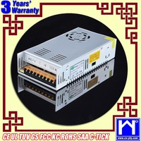 IP20 12v 30a power supply, CE&ROHS certified 360w iron case 12 volt 30 amp power supply, 220v/110v ac to 12v dc converter