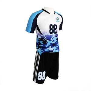 Manufacture Sublimation Design Fast Dry Mesh Fabric Kids Soccer wear