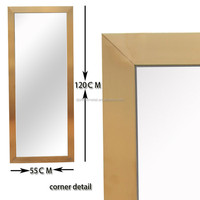 stainless steel Metal Decorative Wall Mirror Frame
