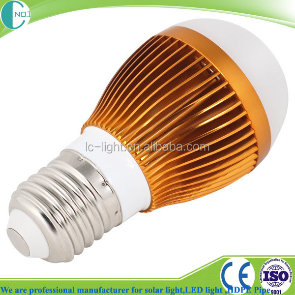 Factory Supply Plastic E27 E14 B22 5w Led Bulb Light Ac160-280v 3 ...