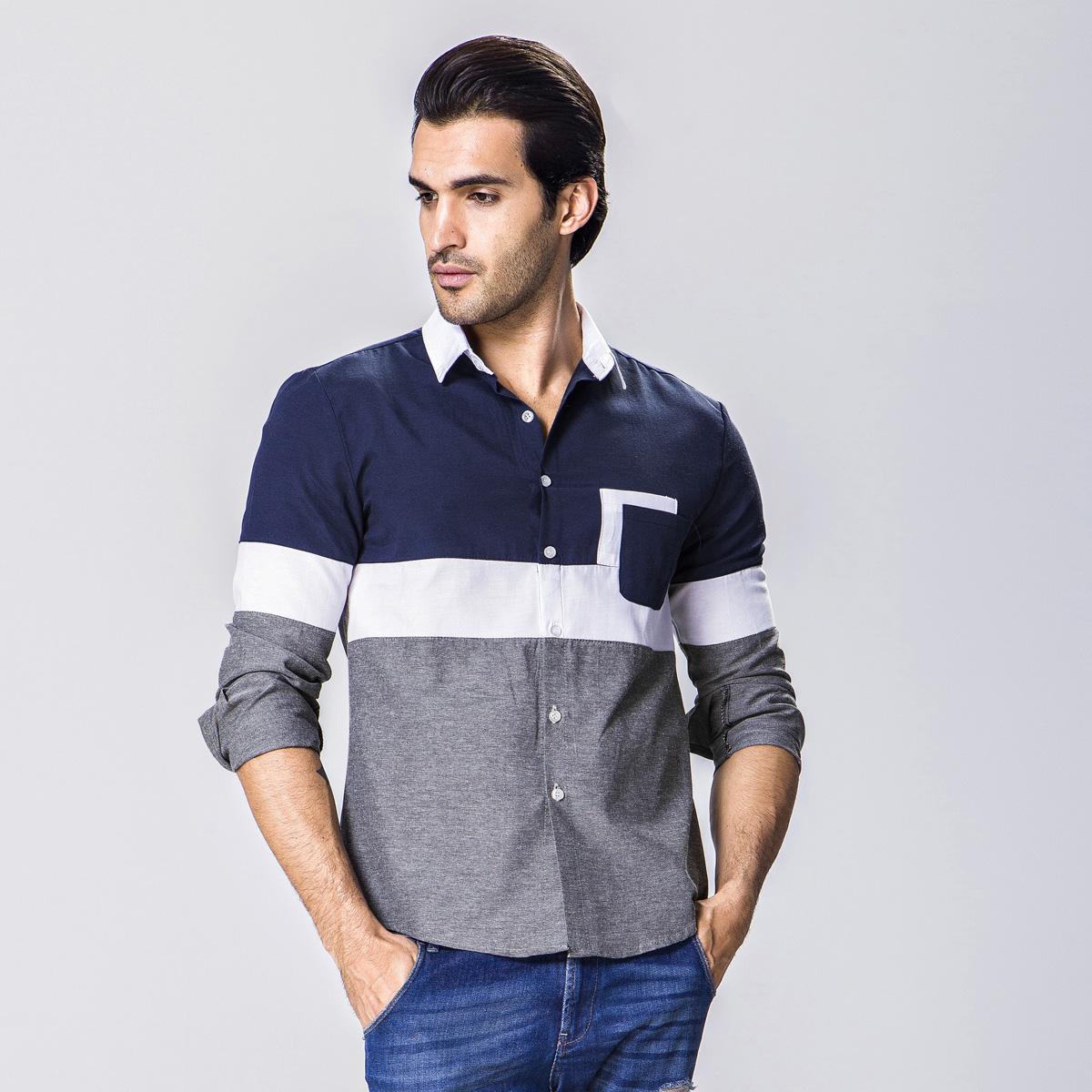 Compra Camisas de tela oxford para los hombres online al