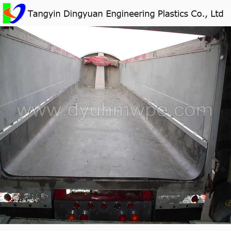 Dump Trailer Liner Sheet For Chuck Chute Hopper Coal