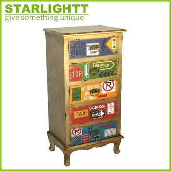 Delicieux Vintage Distressed Wood Many Small Drawers Cabinet Tall Cabinet With Drawers  Handmade Wood Cabinet Small Drawer