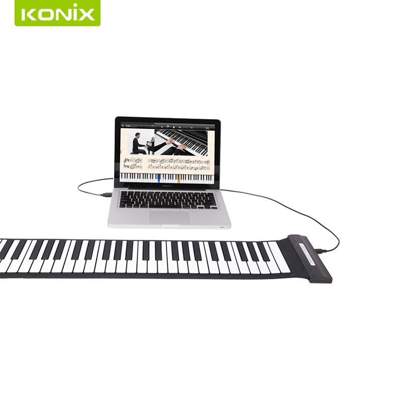 Best Price USB Piano Keyboard MIDI Roll Up Keyboard Piano with High Quality