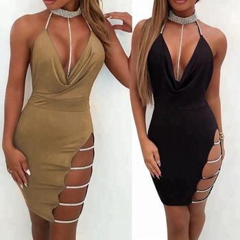 Tendencias De 2019 De Corte Bajo Señoras De Moda De Verano Ropa De Las Mujeres Vestidos Sexy Buy Vestidos De Mujer Sexyropa De Moda De Verano Para