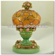 Metal decorativo <span class=keywords><strong>Faberge</strong></span> <span class=keywords><strong>huevo</strong></span>