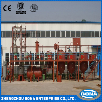 Factory price 1--50T/D oil refinery machine