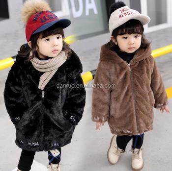 49c598e8041 2017 newest design little girl s fake fur coat  priencess kids faux fur  winter coat