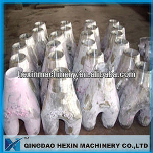heat resistant precision casting pipe fittings/bend
