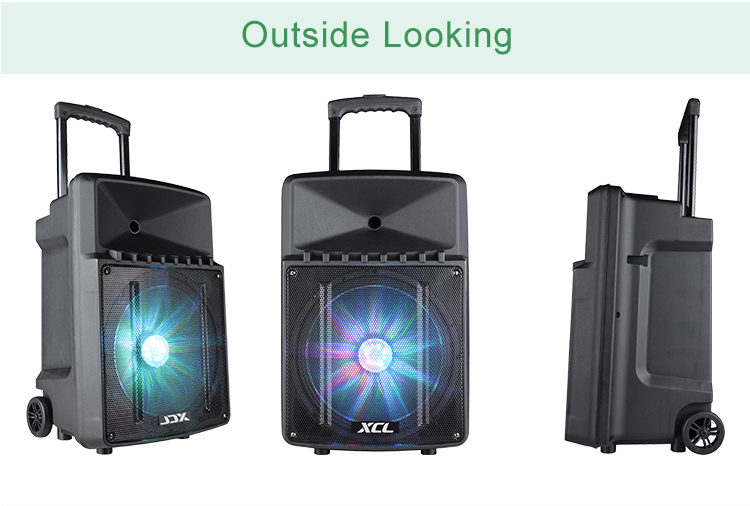 Hot Active Trolley 12 inch Speaker with Reverb
