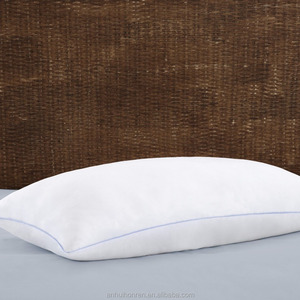 Hotel Collection Premium Microfibrer Filled Pillows - 100% Cotton, Hollowfibre Siliconized Material Gel filled