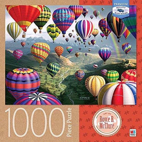 1000 Piece Mcclure Sky Roads Puzzle Cardinal Industries  Royce B