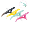 Professional hairdressing salon hair clips plastic crocodile clips