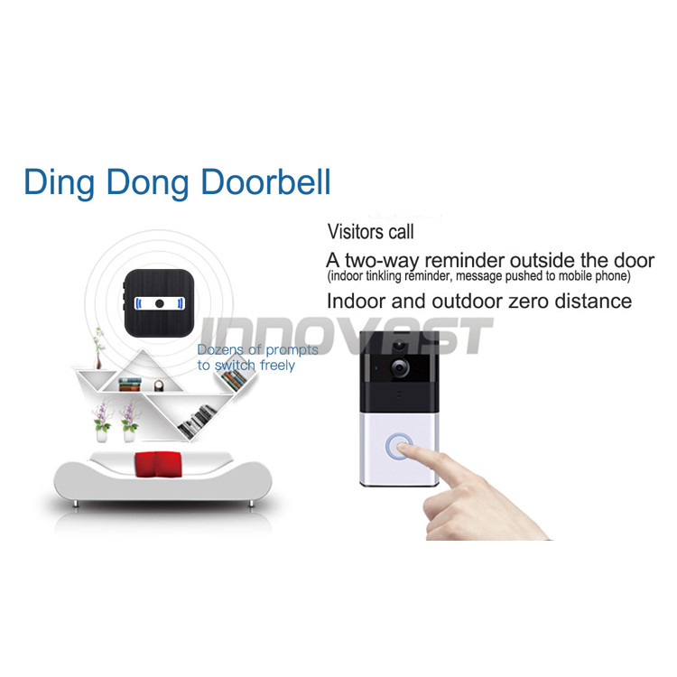 2018 Brand New Wifi Wireless CCTV Mini Motion Detection HD Door Bell for All Door