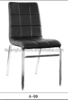modern high back dining steel dining chairs