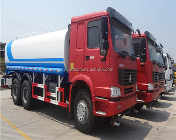 Howo water truck 10 wheeler tanker water truck for sale