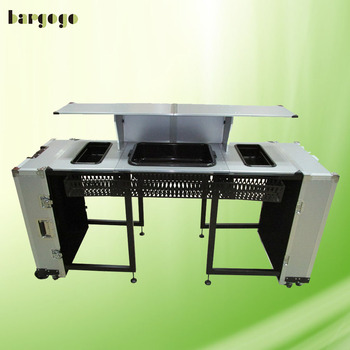 Wsob07aaa Bar Products Mini Folding Portable Counter