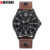 2017 Fashion Genève Quartz Curren 8164 Horloge Slanke Lederen Smart Klok Mannen Casual Horloges