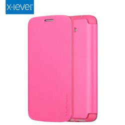 X-Level Business Style Flip PU Leather Mobile Phone Case for LG G2