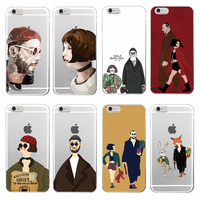 TOMOCOMO Leon Matilda Natalie Portman Movie Poster Soft TPU Phone Case Cover Coque Funda For iPhone 7plus 7 6 6S 8 8plus X