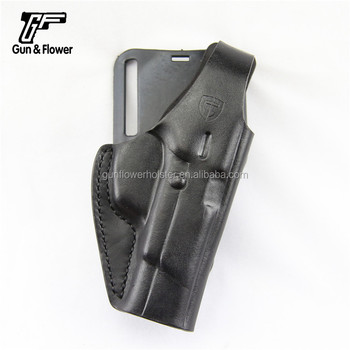 Leather Owb Holster For Glock 17 19 Sig Sauer P226 Cz Pistol - Buy Owb  Holster For Glock 17 19,Leather Owb Holster,Pistol Holster Cz Product on
