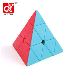 Qiyi wushuang educational game 5 layer cube puzzle with plastic material