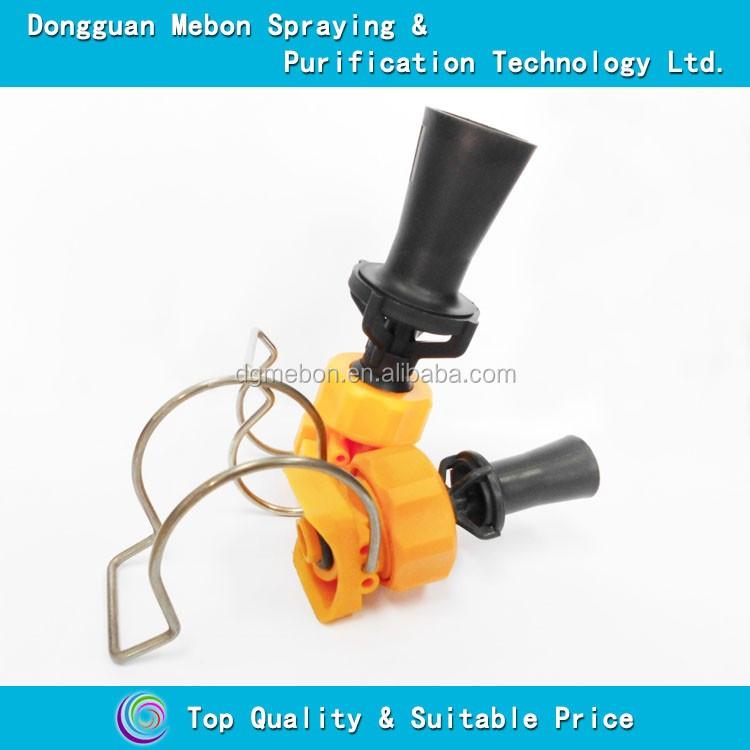Quot bspt plastic venturi eductor mixing fluid tank jet