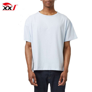 953bed71f Boxy Fit Blank Cotton Mens Tee Shirts Wholesale China - Buy Plain T ...