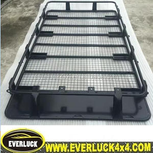 4x4 full length roof rack,offroad 4wd full length roof rack,offroad full length roof racks with light mount brackets