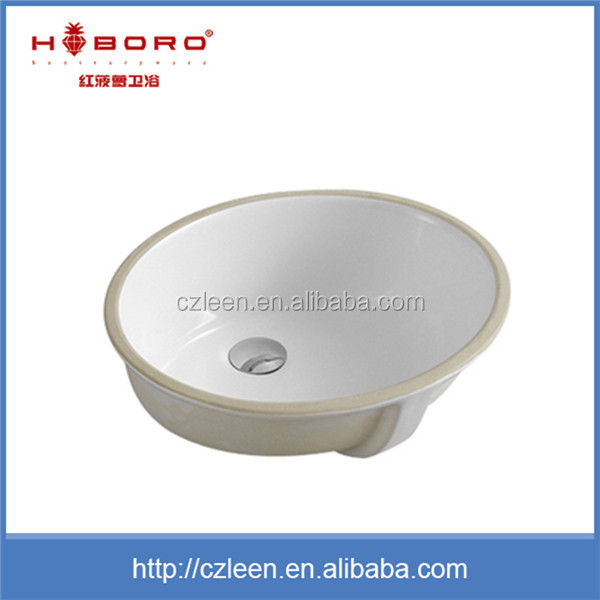 New products 2016 under counter ceramic bathroom sink basin