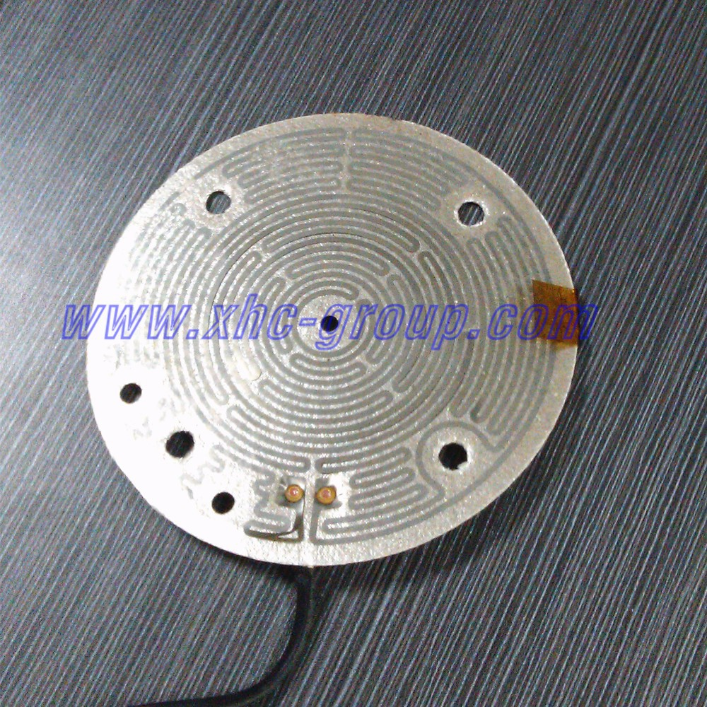 etched resistive foil Mica heater