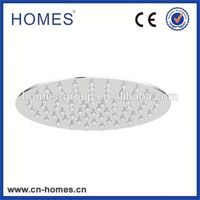 Plastic bathroom skin care shower head with dismountable temperature display
