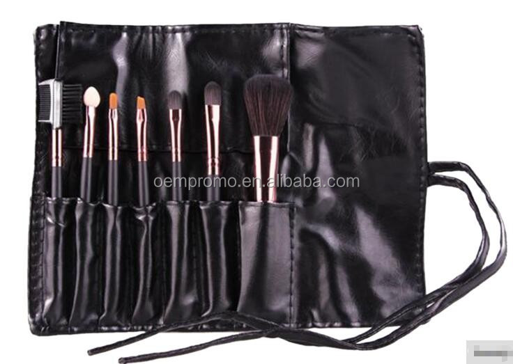 PROMO Wholesale 7pcs Cosmetic Makeup Brush Kit