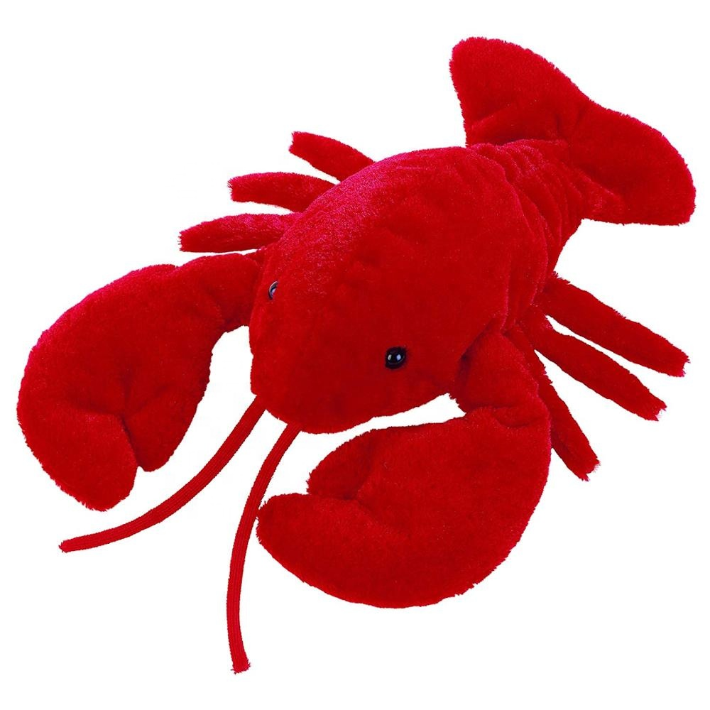 Realistic Stuffed Sea Animals Red Lobster Plush Toys Buy Lobster