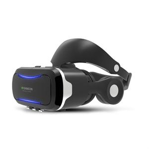 Super High-end  compatible Virtual Reality Glasses with Headphone home cinema factory price for i phone ios and android vr games