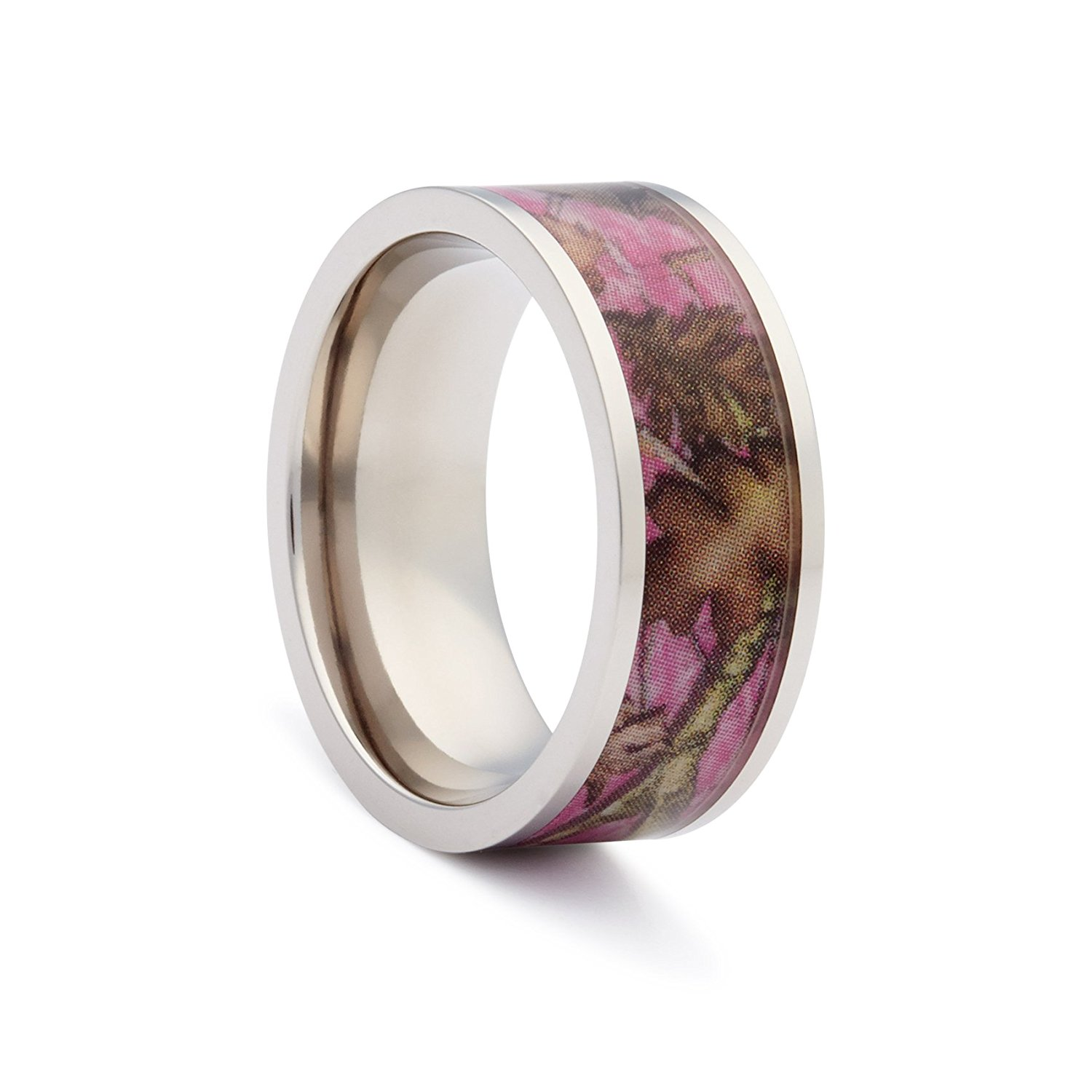 Get Quotations Pink Camo Wedding Rings By 1 Promise For Women