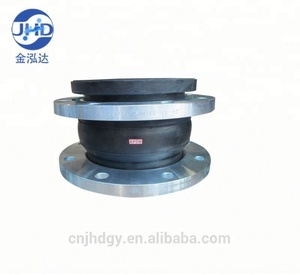 dn100 dn 200 epdm single rubber bellows flexible joint for pipe fitting