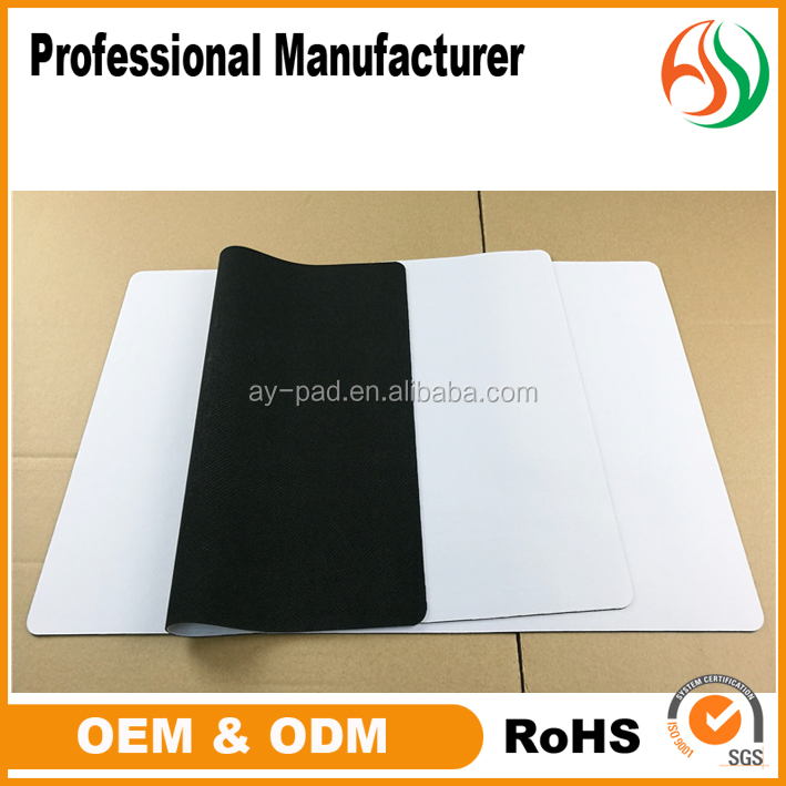 Ay Custom Gaming Mousepad Sublimation, Custom Playmat, Blank White Rubber Play Mat Material