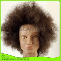 2016 Blanda wholesale new style of arfo curly Training Mannequin Head