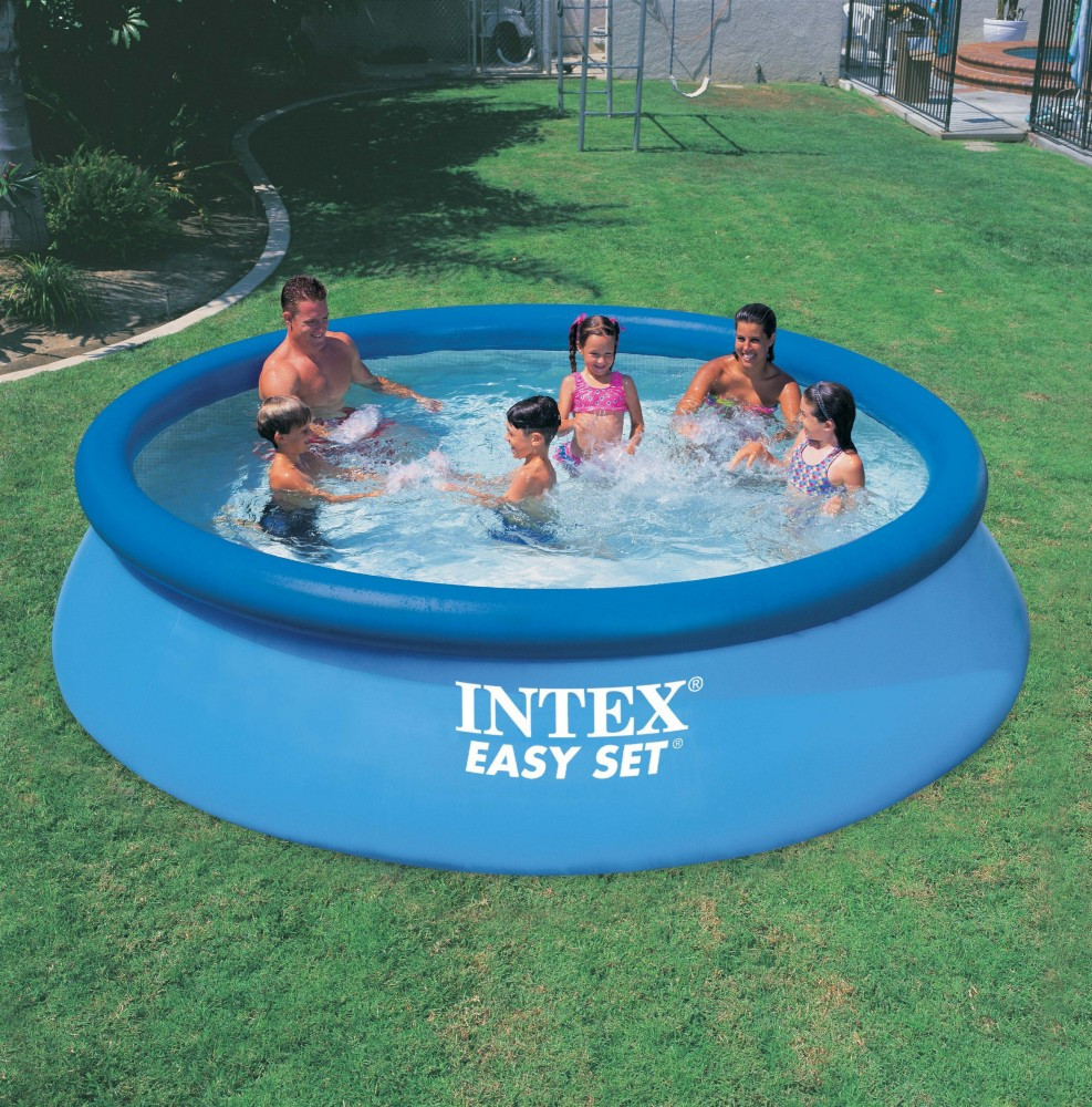 Finden Sie Hohe Qualität Über Dem Boden Runde Form Intex Schwimmen ...