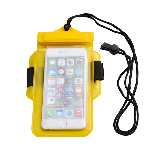 Custom eva pvc waterproof pouch Mobile cell phone bag
