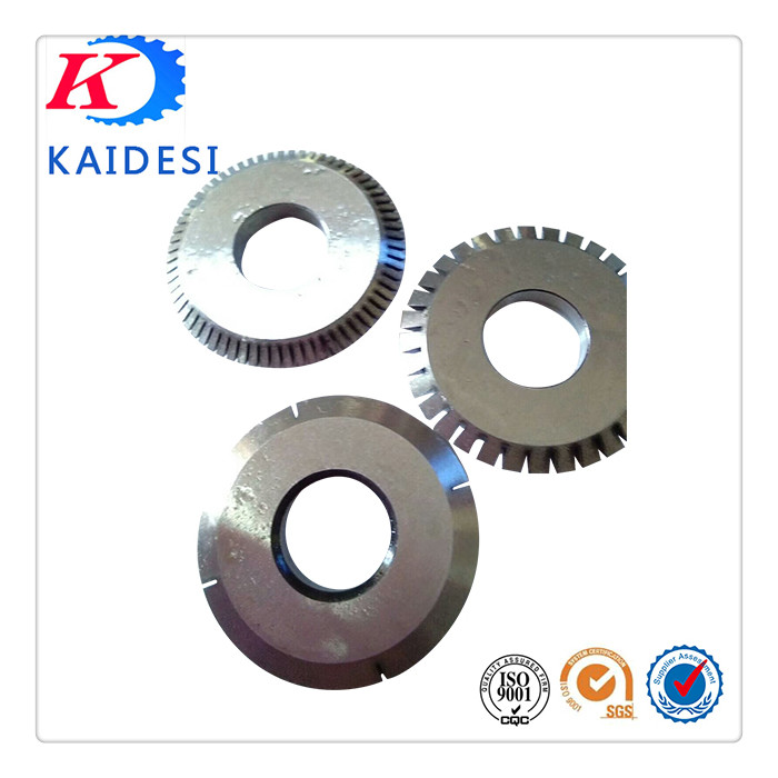 Paper Cutting Knives Corrugated Carton Cutting Blades YG15 Tungsten Carbide Circle Cutting Knife