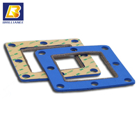 Custom copper emi gasket,silver plated copper fluorosilicone gaskets,rectangular Connector Gaskets