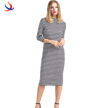 2f414bbe9e4 Women Breastfeeding Nursing Dress Full Sleeve Striped Thick Maternity Dress  For Pregnant Women Breastfeeding Clothes