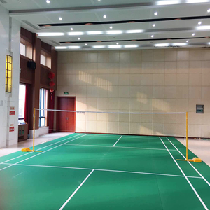 Bwf approved wholesale badminton court flooring from China